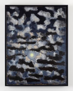 Moonlight with Small Clouds by Stephen McKenna contemporary artwork