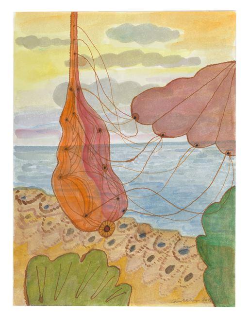 Andra kroppar och havet by Carin Ellberg contemporary artwork