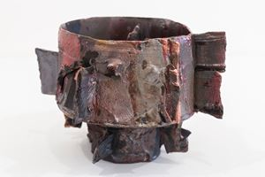 Slate vessel by Tracy Keith contemporary artwork