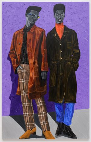 Dapper II by Otis Kwame Kye Quaicoe contemporary artwork