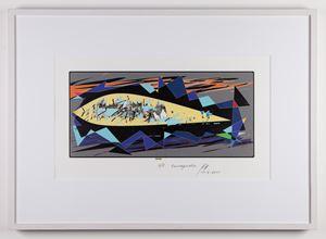 Tsunaquake by Gaylord Chan contemporary artwork