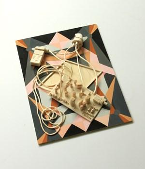 VLF receiver by Tricky Walsh contemporary artwork