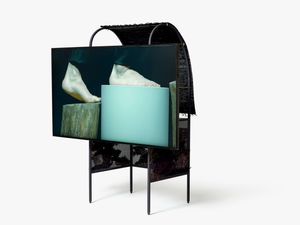 face Video Sculpture by Suki Seokyeong Kang contemporary artwork