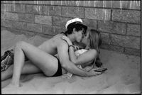 Kissing Kids, HB 2012 by Ed Templeton contemporary artwork photography
