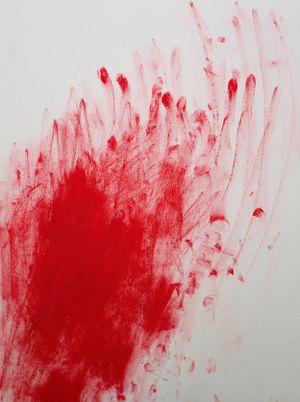 Red Line XXIII by Chiharu Shiota contemporary artwork