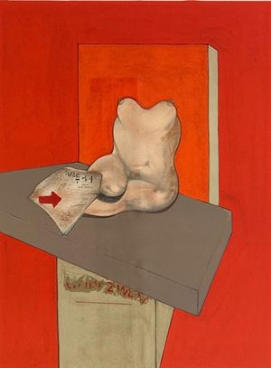 Study of a Human Body after Ingres by Francis Bacon contemporary artwork