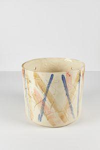 Untitled Large Planter 19 by Rashid Johnson contemporary artwork ceramics