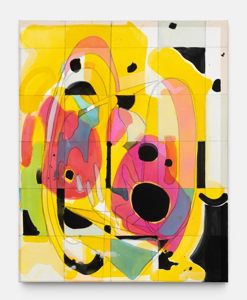 Turn-er by Matt Connors contemporary artwork