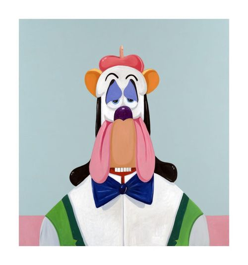 Droopy Dog Abstraction by George Condo contemporary artwork print