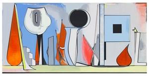 Flatland by Thomas Scheibitz contemporary artwork