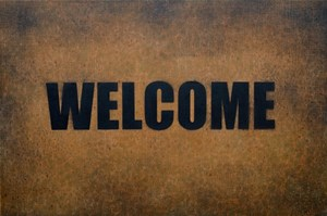 Welcome by David Wadelton contemporary artwork