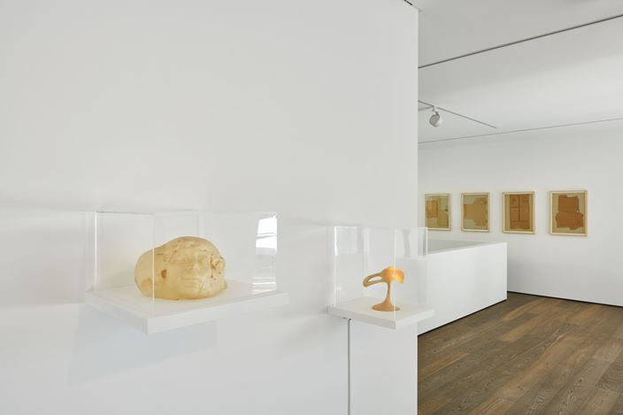 Exhibition view: Group Exhibition, Seeing Touch, curated by Giorgia von Albertini, Hauser & Wirth, St. Moritz (26 September–15 November 2020). © the artists. Courtesy the artists and Hauser &Wirth. Photo: Jon Etter.