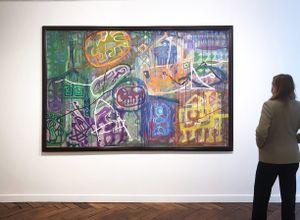 Orient 3 by Le Trieu Dien contemporary artwork painting