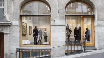 Gagosian contemporary art gallery in Basel, Switzerland