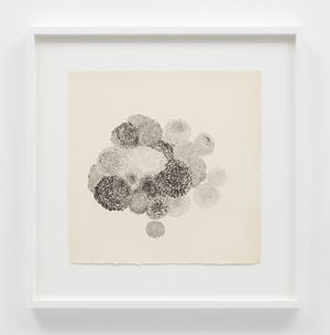 Untitled (TAM.1483, Marigolds) by Ruth Asawa contemporary artwork