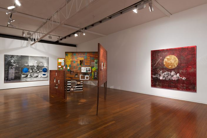 Exhibition view: Brook Andrew, Smash It, Roslyn Oxley9 Gallery, Sydney (8 March - 7 April, 2018). Courtesy Roslyn Oxley9 Gallery.