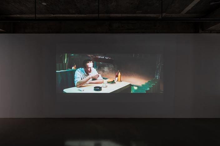 Installation view: Rinus Van de Velde,'On Another Plane of Existence', Gallery Baton, Seoul, 2020