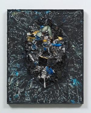 Self Portrait II by Jack Whitten contemporary artwork