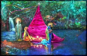 A New World by David LaChapelle contemporary artwork