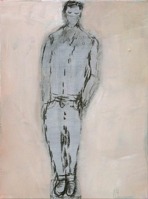 A very quiet boy by Kristin Stephenson (Hollis) contemporary artwork