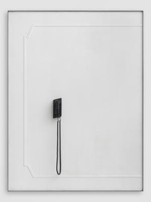 Black Telephone (Dreaming) by Martin Boyce contemporary artwork