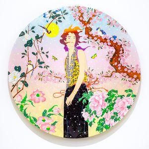 Minimal Celestine by Tomokazu Matsuyama contemporary artwork