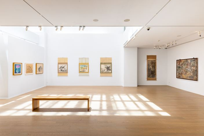 Exhibition view: Kuo Hsueh-Hu & Lin A-Chin, The Gaze from the North: Kuo Hsueh-Hu and His Southern World, Liang Gallery, Taipei (5 September–25 October 2020). Courtesy Liang Gallery.