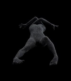 Yomi(Black Sic_VESSEL) by Kohei Nawa contemporary artwork