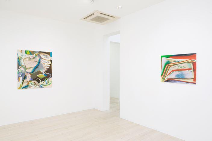 David Palliser, Autumn's Atom, 2017. Exhibition view, Gallery 9, Sydney. Gallery 9, Sydney.