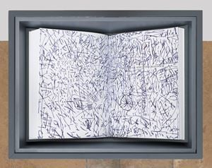 Andy's Doodles by Barbara Bloom contemporary artwork