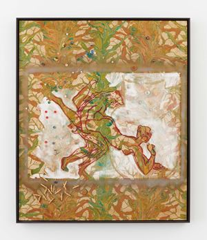 Untitled by Sigmar Polke contemporary artwork painting