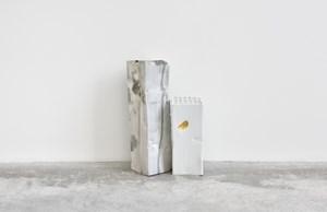 Gold Thumbs Landscape by Arlene Shechet contemporary artwork