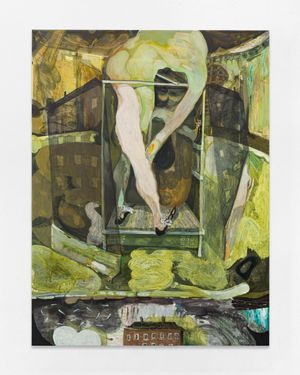 Preconceived ideas of nothing by Guglielmo Castelli contemporary artwork painting