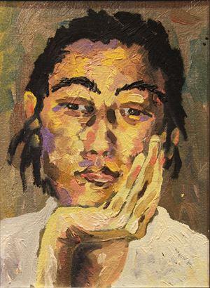 自畫像 Self-Portrait Series by Jo Hsieh contemporary artwork
