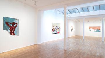 Contemporary art exhibition, Billie Zangewa, Soldier of Love at Templon, 30 rue Beaubourg, Paris, France