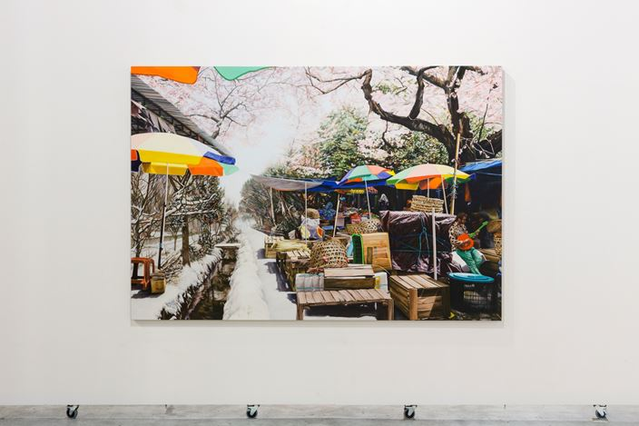 Exhibition view: Kevin Chin, Refuge, THIS IS NO FANTASY + dianne tanzer gallery, Melbourne (1 July–19 July 2017). Courtesy THIS IS NO FANTASY + dianne tanzer gallery.