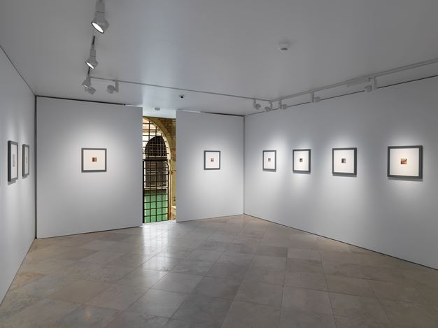 Exhibition view: Francesca Woodman, New York Works, Victoria Miro, Venice (31 October–12 December 2020). All works © The Woodman Family Foundation. Courtesy The Woodman Family Foundation and Victoria Miro, London/Venice.