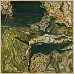 yuba river by Billy Childish contemporary artwork