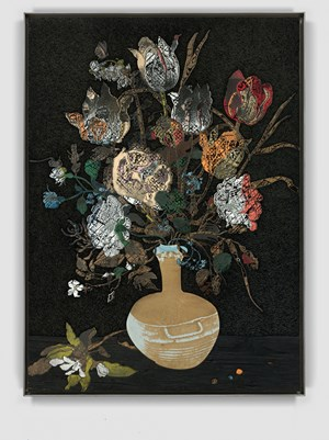 Vase with Flowers by Matthew Day Jackson contemporary artwork