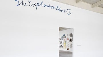 Contemporary art exhibition, Raymond Pettibon, TH' EXPLOSIYV SHOYRT T at David Zwirner, 19th Street, New York