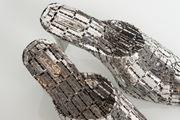 The Italian Black Heels by Tayeba Lipi contemporary artwork 3