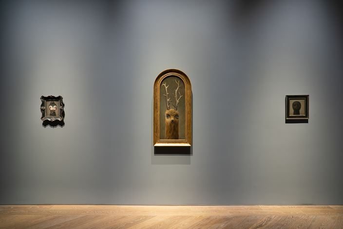 Exhibition view: Mark Ryden, Anima Animals, Perrotin, Shanghai (3 July–22 August 2020). Courtesy the Artist and Perrotin. Photo: Mengqi Bao.