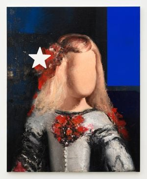 America (part of Strange Fruit series after Velázquez) by Mircea Suciu contemporary artwork painting