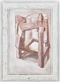 Crooked House No.180312 错屋No.180312 by Chen Yujun contemporary artwork painting