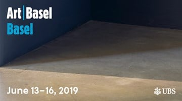 Contemporary art exhibition, Art Basel 2019 at Xavier Hufkens, Brussels