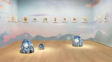 Contemporary art exhibition, Chiho Aoshima, OUR TEARS SHALL FLY OFF INTO OUTER SPACE at Perrotin, Hong Kong