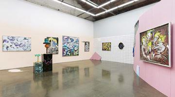 Contemporary art exhibition, Zhou Yilun, Marie Montanna at Beijing Commune, China