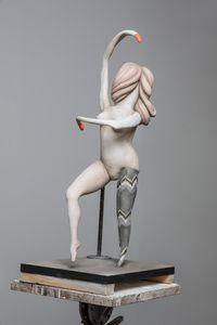 Degas Doll 4 by Cathie Pilkington contemporary artwork sculpture