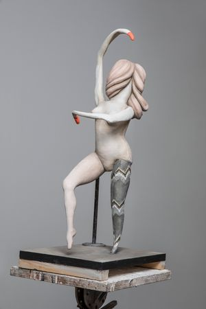 Degas Doll 4 by Cathie Pilkington contemporary artwork