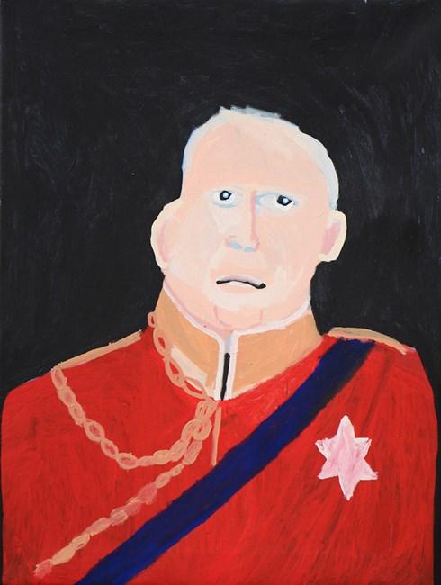 The Duke by Vincent Namatjira contemporary artwork